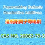 Papermaking cationic conductive additives